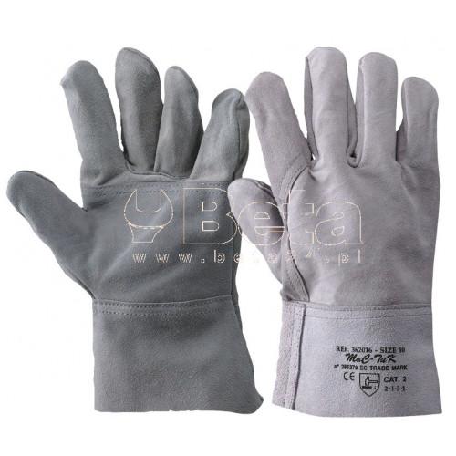 Rękawice 9TH z dwoiny bydlęcej MAC-TUK 362016/10