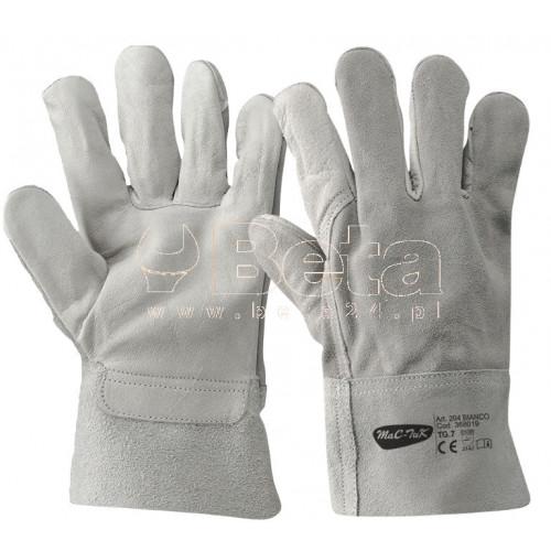 Rękawice 204 TOP z bydlęcej skóry licowej i dwoiny bydlęcej MAC-TUK 368021/10