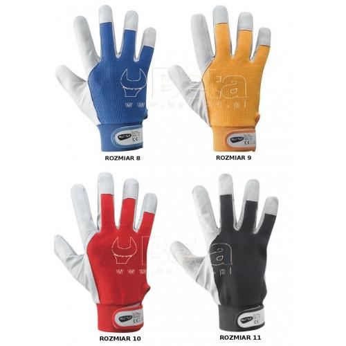 Rękawice BALL z owczej skóry licowej i bawełny MAC-TUK 376050