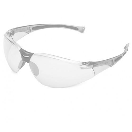 Okulary ochronne z bezbarwną soczewką i bezbarwną oprawką Beta A800