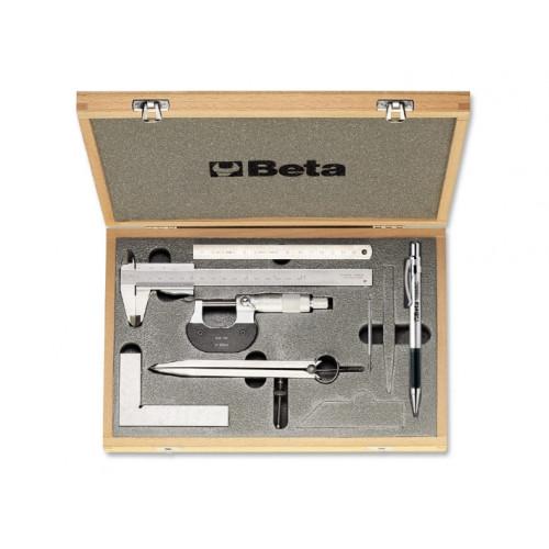 Zestaw 7 narzędzi do mierzenia i trasowania Beta 1685/C7