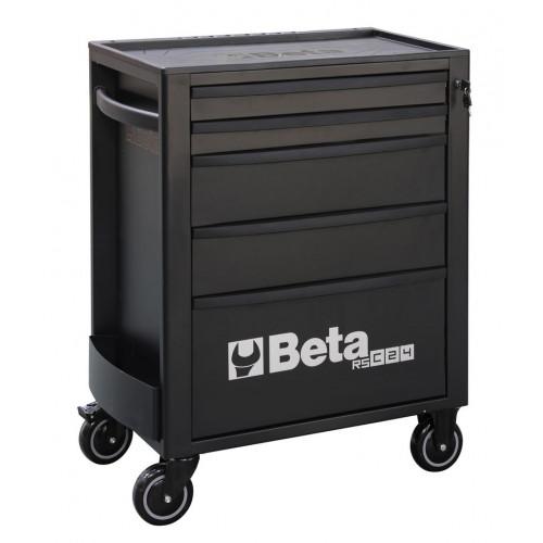 Wózek narzędziowy pusty z 5 szufladami czarny Beta 2400/RSC24/5-N