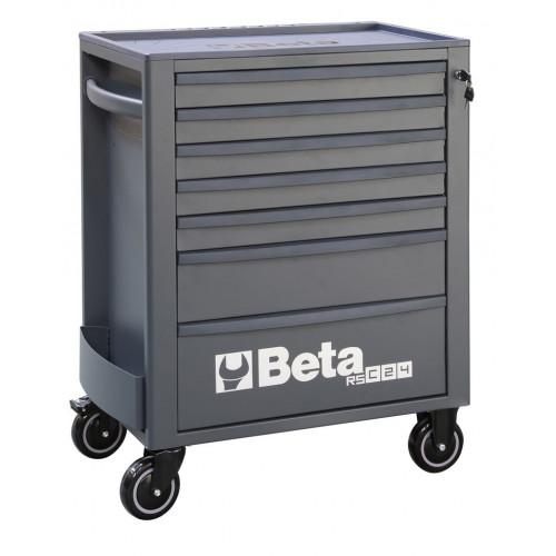 Wózek narzędziowy pusty z 7 szufladami antracytowy Beta 2400/RSC24/7-A