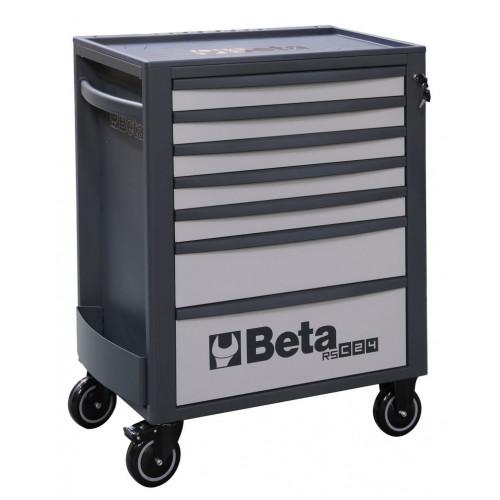 Wózek narzędziowy pusty z 7 szufladami szaro-antracytowy Beta 2400/RSC24/7-G