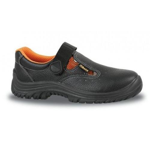 Sandały bezpieczne skórzane perforowane Beta 7247B
