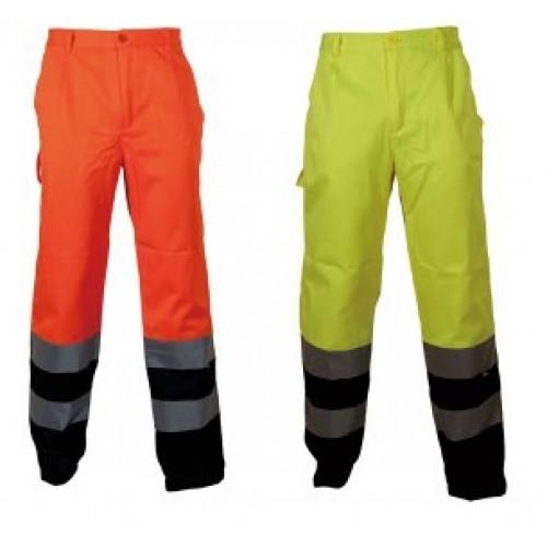 Spodnie robocze Vizwell VWTC07 -2b ( żółte i pomarańczowe ) -wylaczone