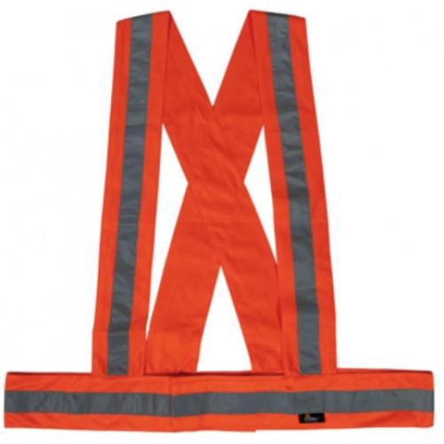 Szelki ostrzegawcze pomarańczowe Vizwell VWOT01O