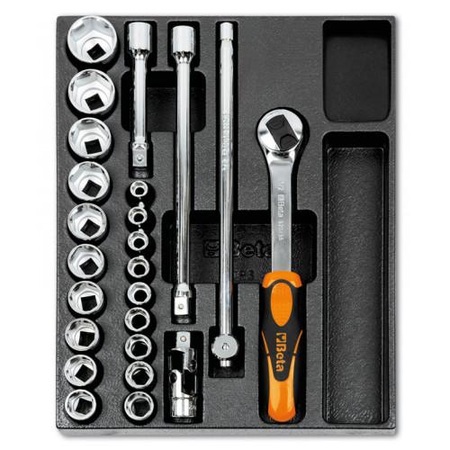 Zestaw 24 narzędzi we wkładce z tworzywa Beta T83