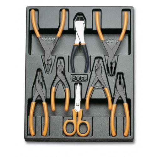Zestaw 8 narzędzi we wkładce Beta T140