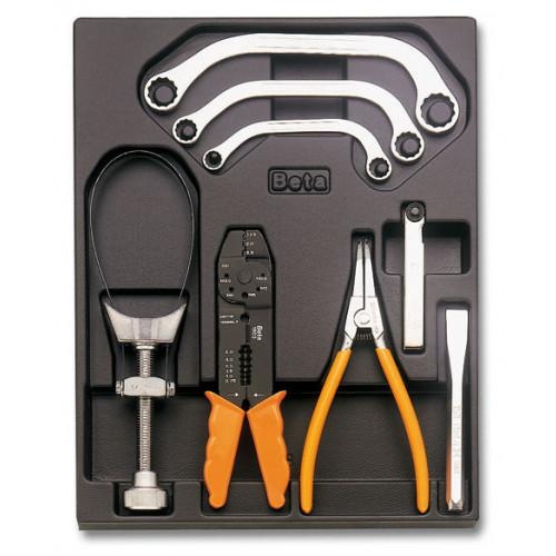 Zestaw 8 narzędzi we wkładce Beta T250