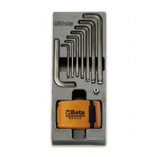 Zestaw 40 narzędzi we wkładce z tworzywa Beta 2424/T259