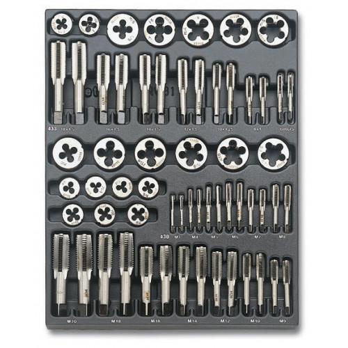 Zestaw 60 narzędzi we wkładce z tworzywa Beta T270