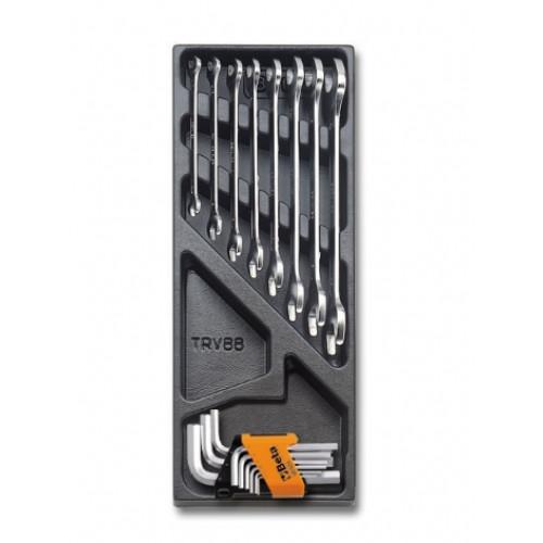 Zestaw 17 narzędzi we wkładce z tworzywa Beta 2424/T33