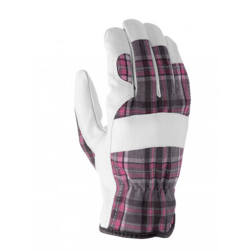 Rękawice do prac ogrodowych Beta PA7226W Tartan Pink