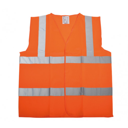 Kamizelka ostrzegawcza pomarańczowa Vizwell VWEN03O