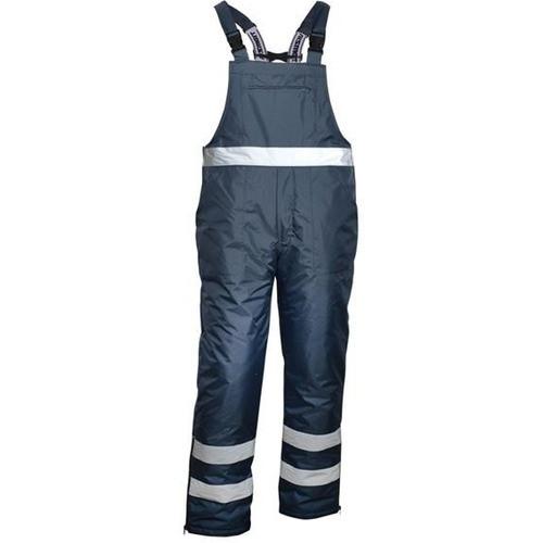 Ocieplane spodnie robocze na szelkach Vizwell VWJK113N