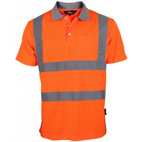Koszulka polo ostrzegawcza Vizwell VWPS03-BO