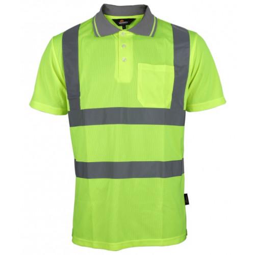 Koszulka polo ostrzegawcza Vizwell VWPS03-BY