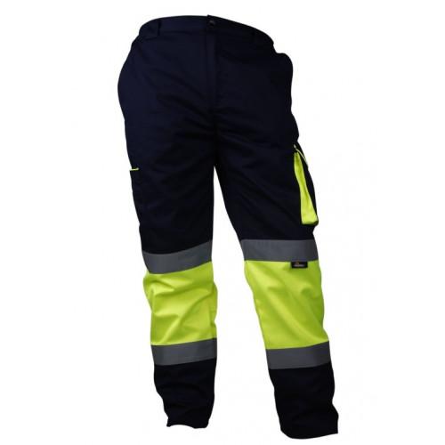 Spodnie ostrzegawcze do pasa Vizwell VWTC17YN