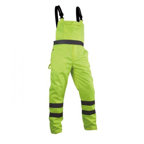Spodnie robocze na szelkach Vizwell VWTC08Y