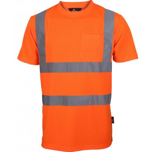 T-shirt ostrzegawczy Vizwell VWTS03-BO