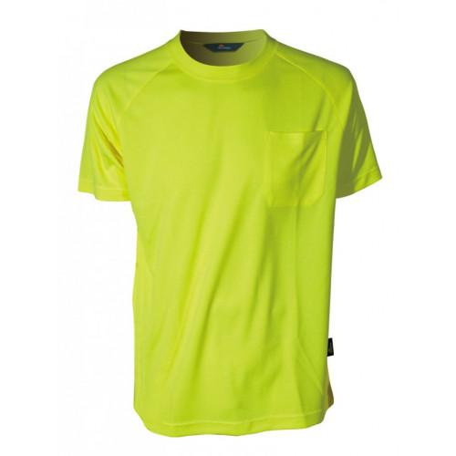 T-Shirt ostrzegawczy CoolPass Vizwell VWTS10-AY