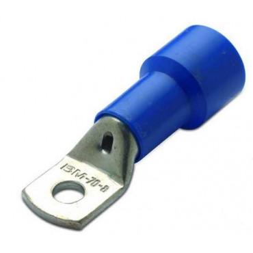 Końcówki oczkowe izolowane nylonowe rurowe niebieskie 100szt. BM Group 00937-00961 - przekrój: 70mm2