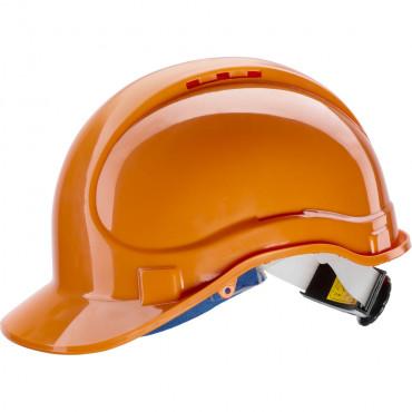 Hełm ABS E1 do pracy na wysokości pomarańczowy Newtec 131071