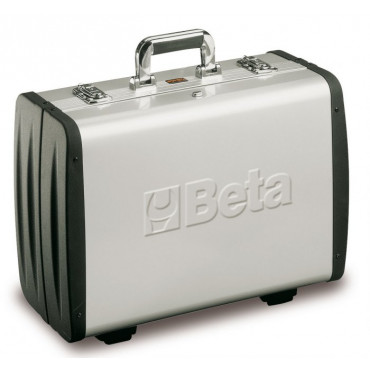 Walizka narzędziowa aluminiowa bez narzędzi Beta  2033P/VV