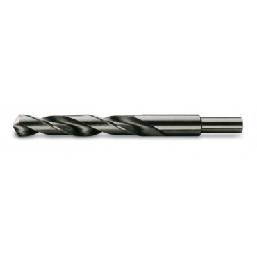 Wiertła kręte cylindryczne krótkie średnica chwytów zmniejszona do 13 mm szlifowane czernione HSS Beta 412A