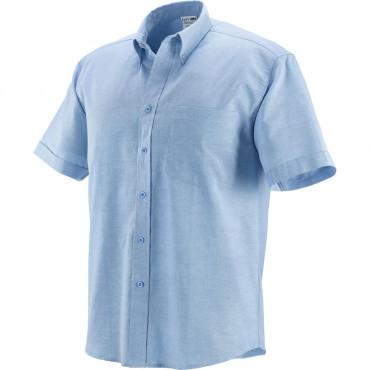Koszula z krótkim rękawem jasnoniebieska Greenbay 431013