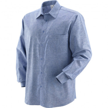 Koszula Chembray bawełniana niebieska Greenbay 431020