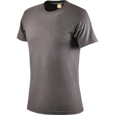 T-shirt antracytowy bawełniany Greenbay 471002