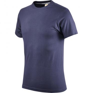 T-shirt granatowy bawełniany Greenbay 471006