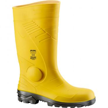 Buty wysokie bezpieczne z PCW SKL 570110