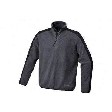 Bluza polarowa grafitowo-czarna Beta 7632G