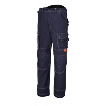 Spodnie robocze z płótna z wieloma kieszeniami Beta 7816BL