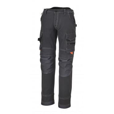 Spodnie robocze z wieloma kieszeniami z płótna Beta 7816G