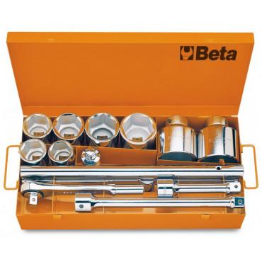 Zestaw nasadek 1'' z wyposażeniem Beta 929/C8