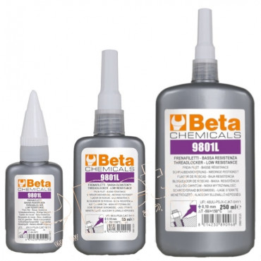 Klej anaerobowy do gwintów metalowych - mała siła łączenia Beta 9801L