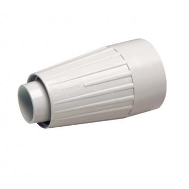 Złącza szczelne IP67 do mocowania osprzętu elektroinstalacyjnego 10szt. - złącze rurka-rura spiralna o mniejszej średnicy TG BM Group TP7TG16/12-TP7TG25/20