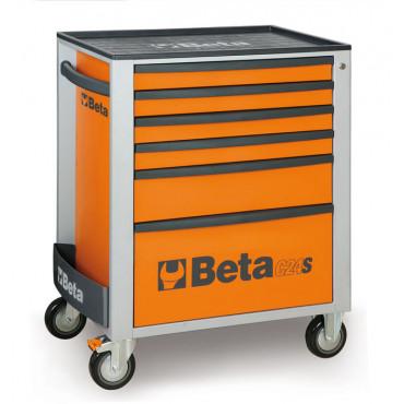 Wózek narzędziowy C24S5 z zestawem 99 narzędzi Beta 2400S6-O/VG2T