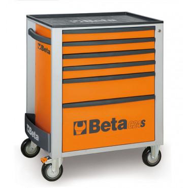 Wózek narzędziowy Beta C24S z 6 szufladami