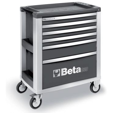 Wózek narzędziowy z 6 szufladami Beta 3900/C39-6