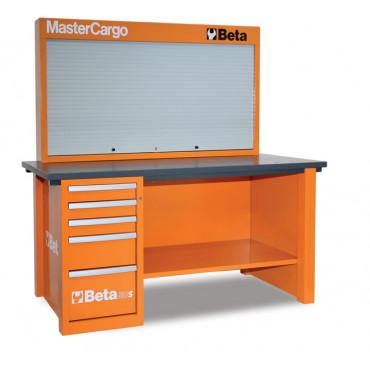 Stół warsztatowy z tablicą narzędziową MasterCargo - Beta C57SA - 5700SA