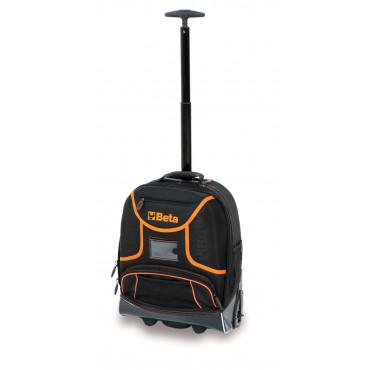 Plecak narzędziowy z tkaniny na kółkach bez wyposażenia Beta 2106/C6T
