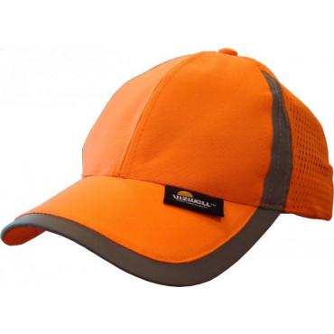 Czapka z daszkiem ostrzegawcza pomarańczowa Vizwell VWOT229O