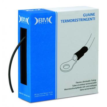 Rurki termokurczliwe w pudełku 7m kurczliwość 2:1 BM Group GBS095M - średnica: 9.5mm