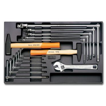 Zestaw 14 narzędzi we wkładce z tworzywa Beta 2424/T59