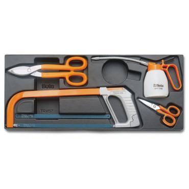 Zestaw 9 narzędzi we wkładce z tworzywa Beta T285